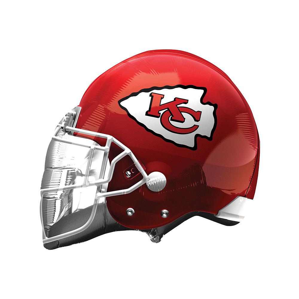 Kansas City Chiefs Helmet & Stars Balloon Kit Image #2
