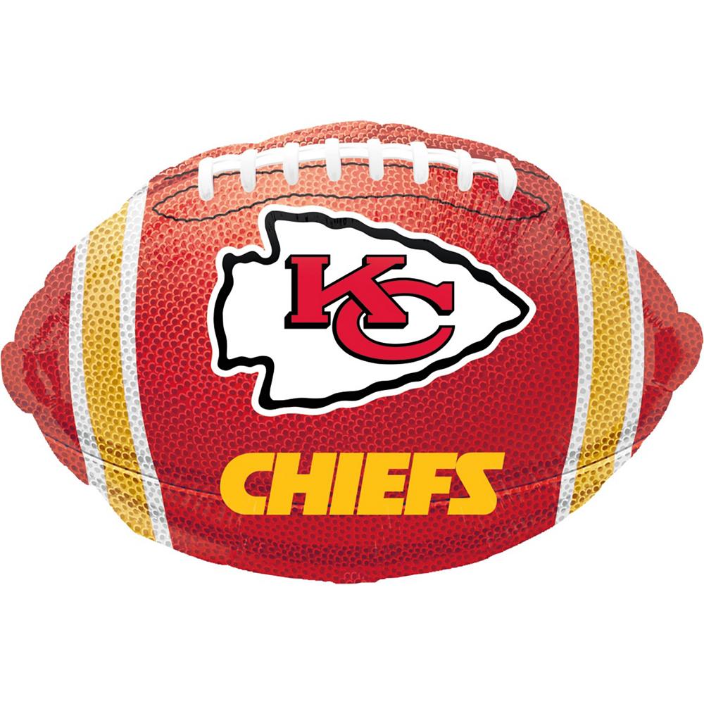 Kansas City Chiefs Helmet & Stars Balloon Kit Image #5