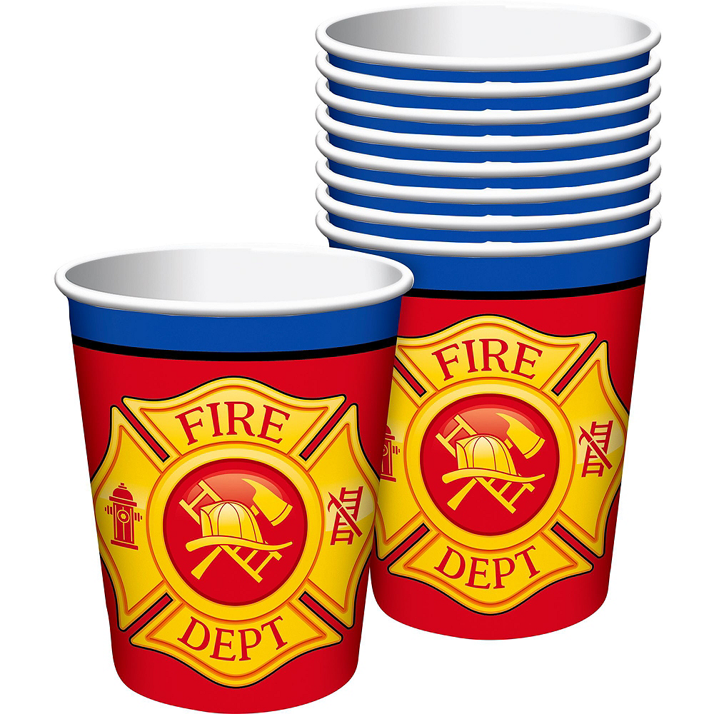 Fire Truck Basic Party Kit for 8 Guests Image #6