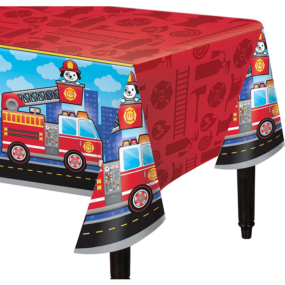 Fire Truck Basic Party Kit for 16 Guests Image #7