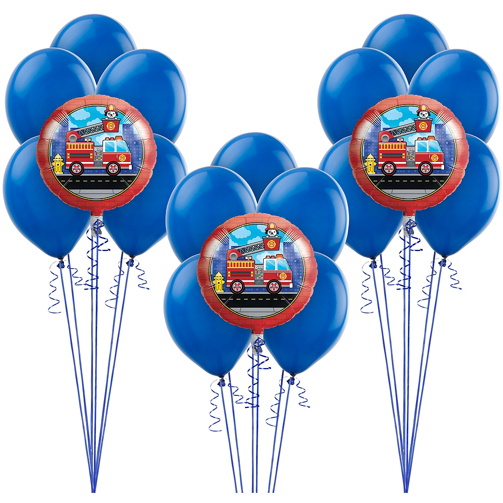 Fire Truck Balloon Kit Image #1