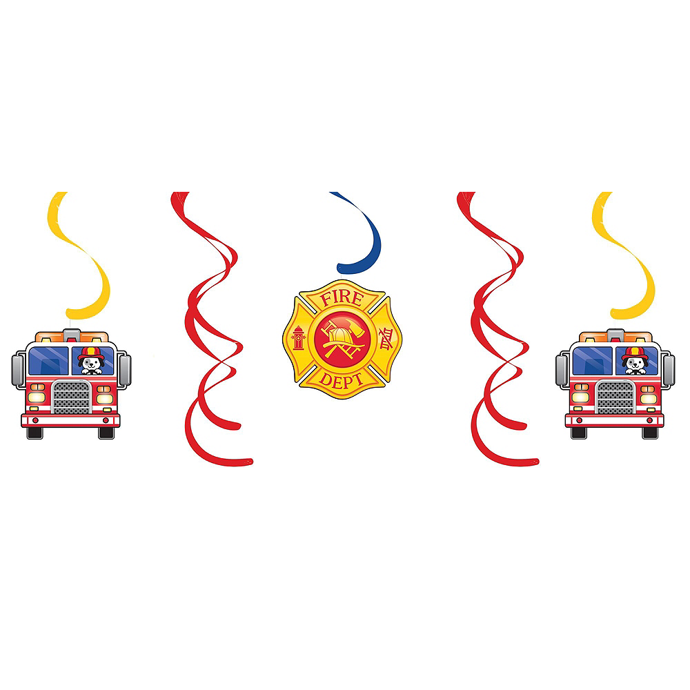 Fire Truck Decorating Kit Image #4