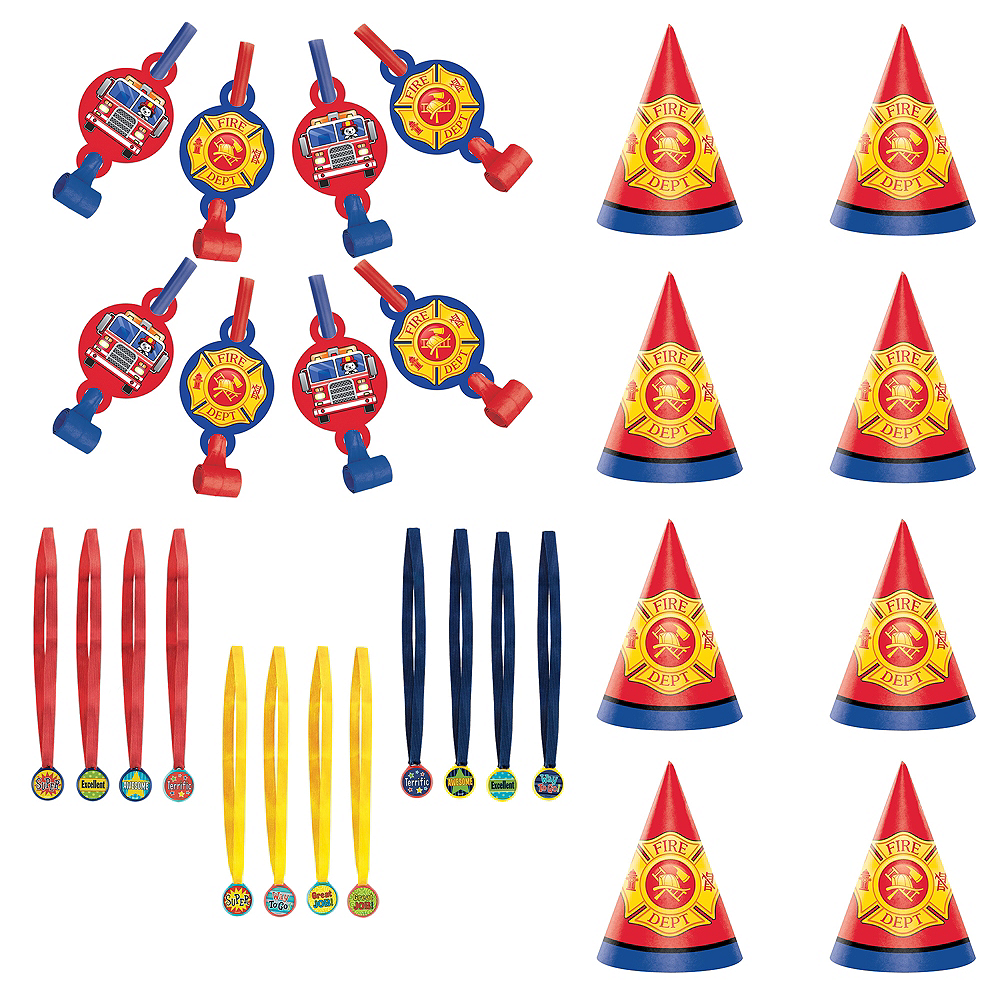 Fire Truck Accessories Kit Image #1