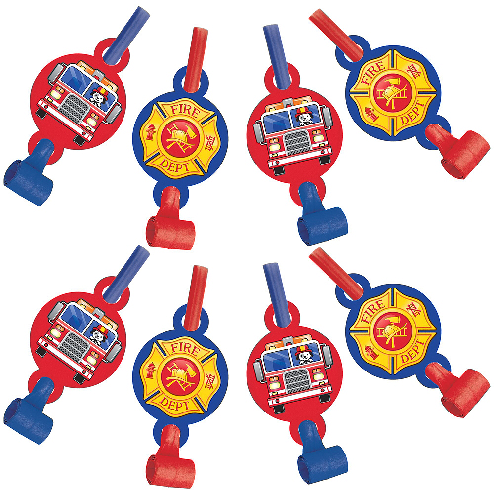 Fire Truck Accessories Kit Image #3