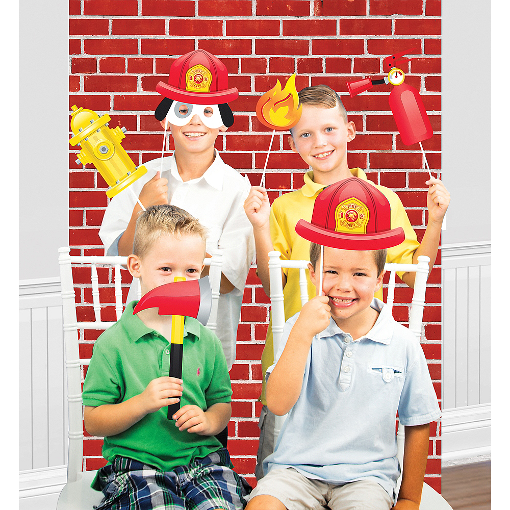 Fire Truck Photo Booth Kit Image #1