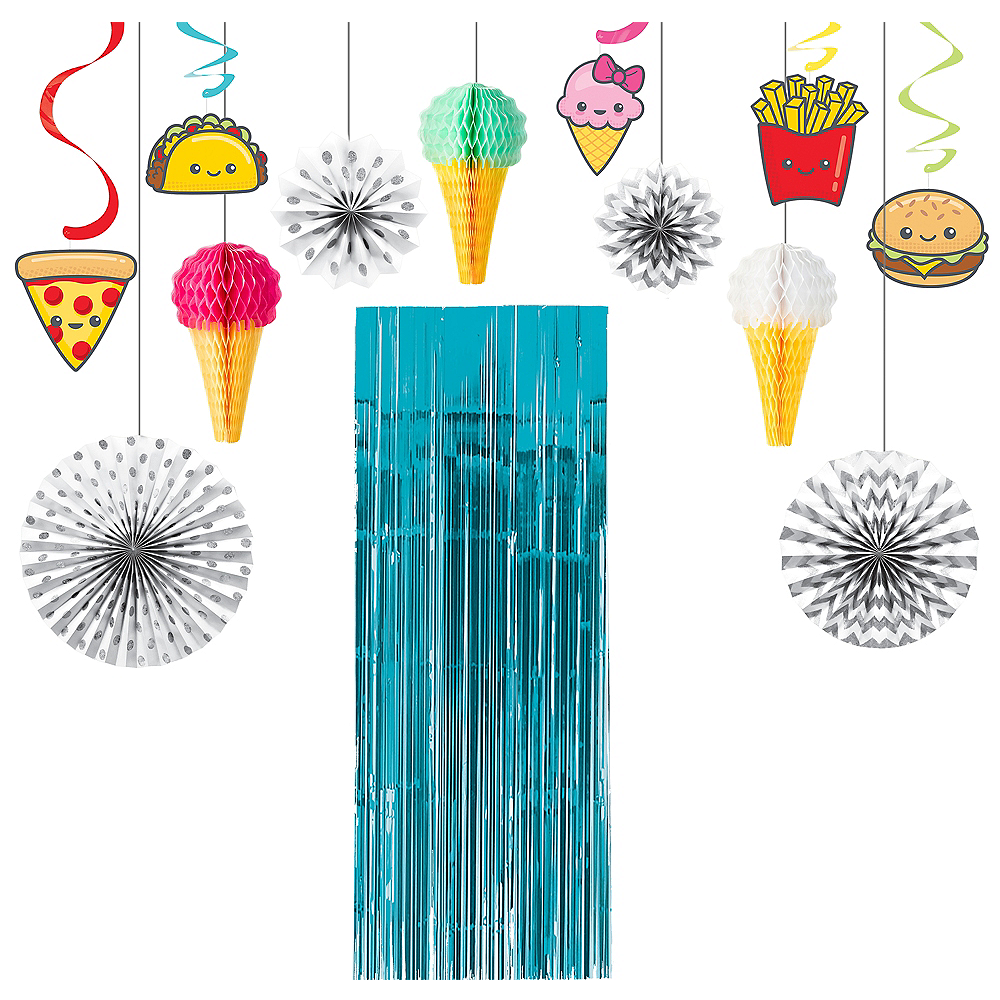 Junk Food Fun Decoration Kit Image #1