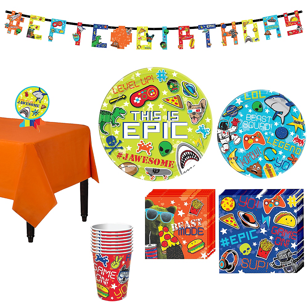 Epic Party Party Kit for 8 Guests Image #1