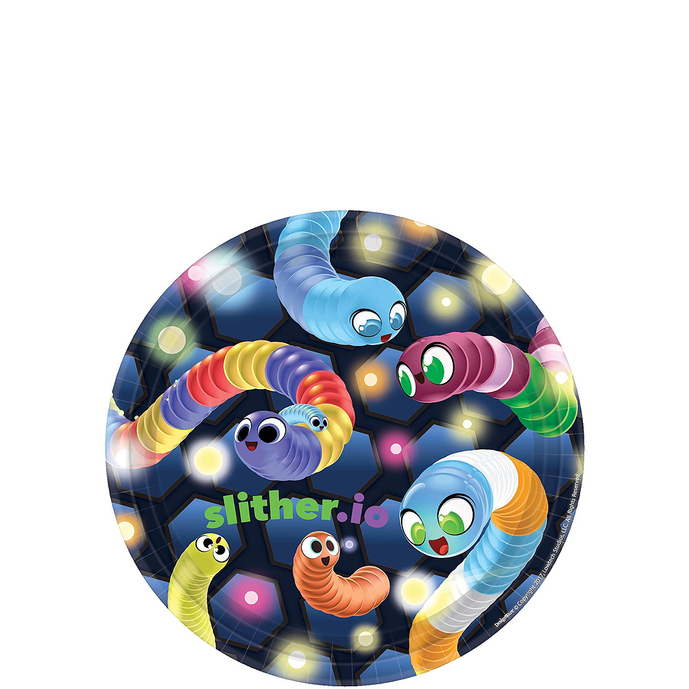 Slither.io Basic Party Kit for 8 Guests Image #2