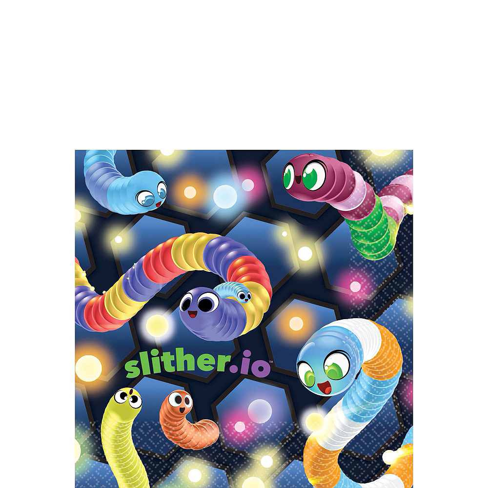 Slither.io Basic Party Kit for 8 Guests Image #4
