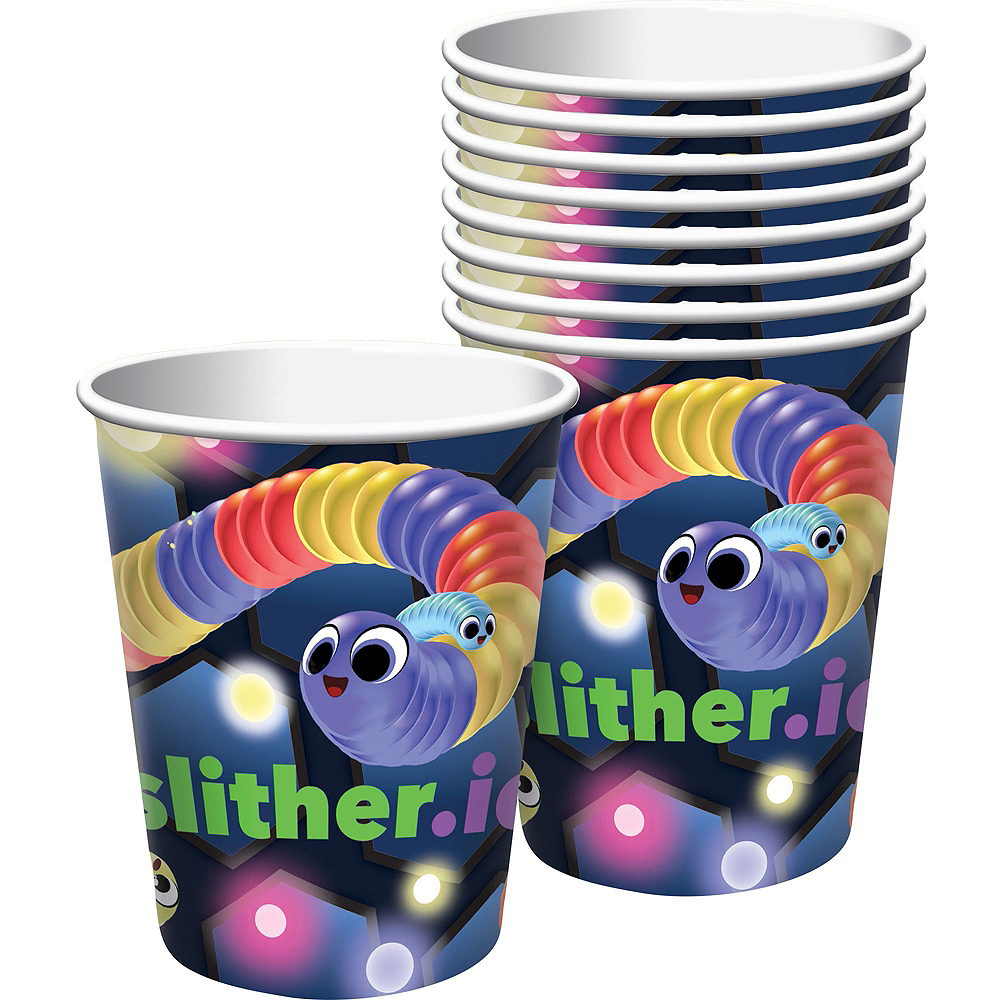 Slither.io Basic Party Kit for 8 Guests Image #6