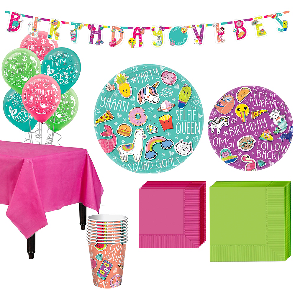 Selfie Celebration Party Kit for 8 Guests Image #1