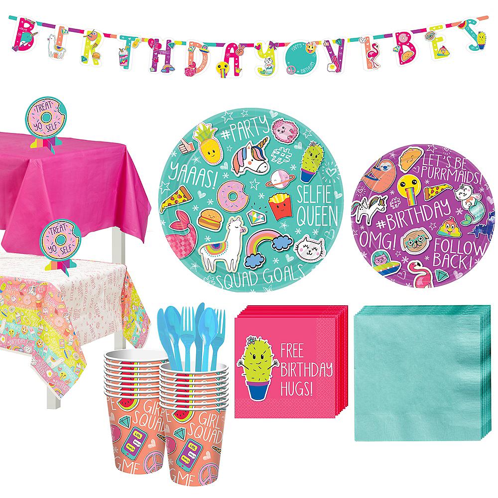 Selfie Celebration Party Kit for 16 Guests Image #1