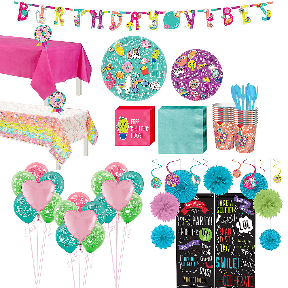 Selfie Celebration Ultimate Party Kit for 16 Guests Image #1