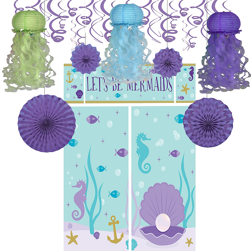 Nav Item For Wishful Mermaid Decorating Kit Image 1