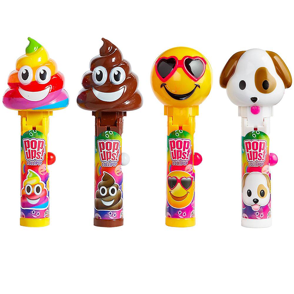 Smiley Pop Ups Lollipops 12ct Image #1