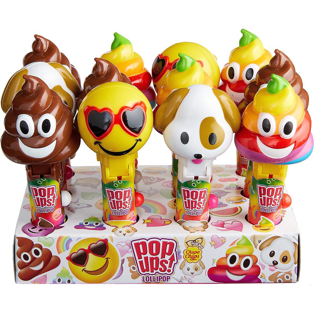 Smiley Pop Ups Lollipops 12ct Image #3