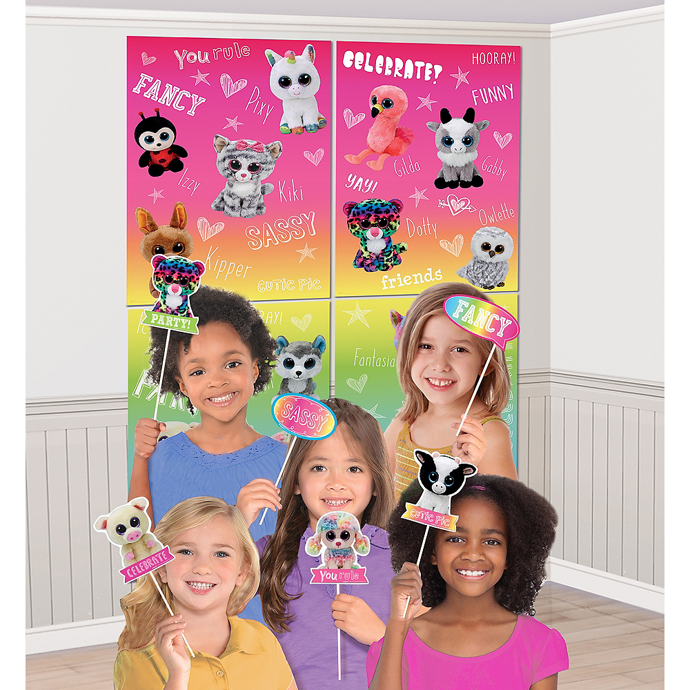 Beanie Boo's Scene Setter with Photo Booth Props Image #1