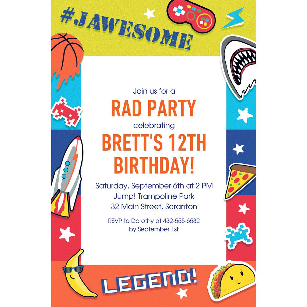 Custom Epic Party Invitation | Party City