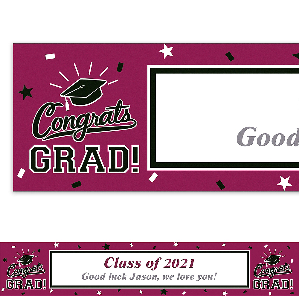 Custom School Colors Pride Berry Banner Image #1