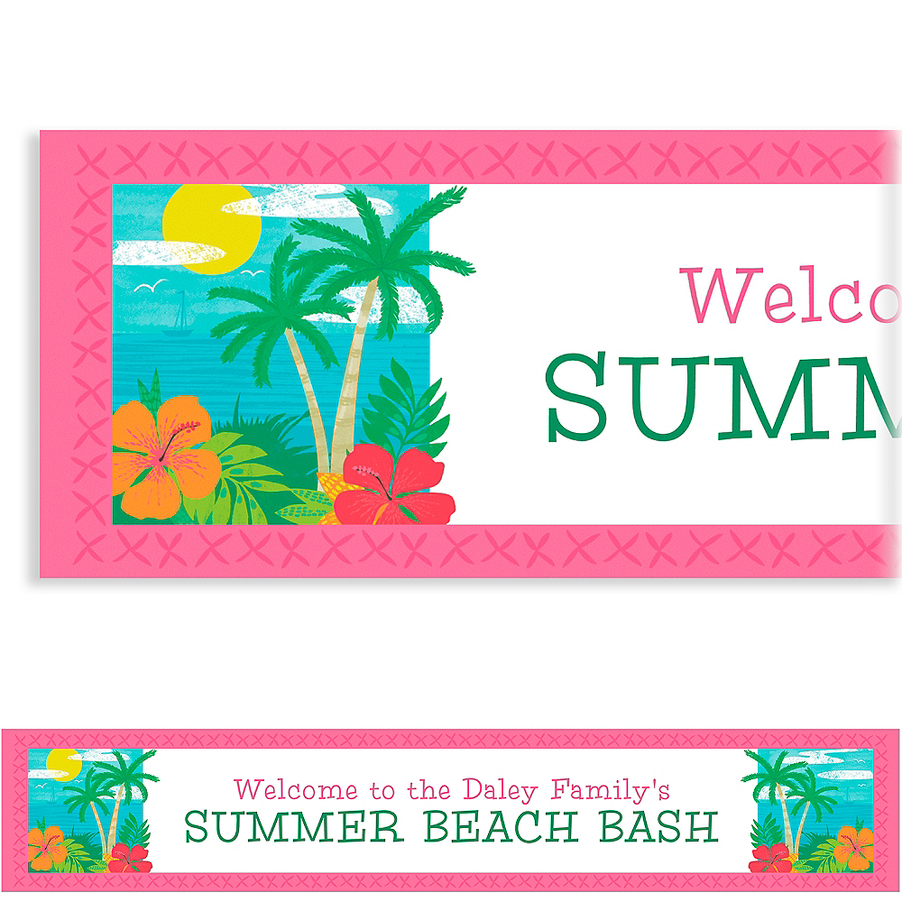 Nav Item for Custom Summer Vibes Banner Image #1