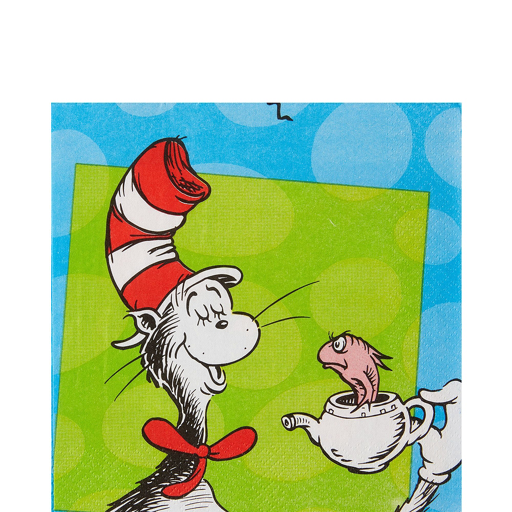 Dr. Seuss Tableware Party Kit for 16 Guests Image #5