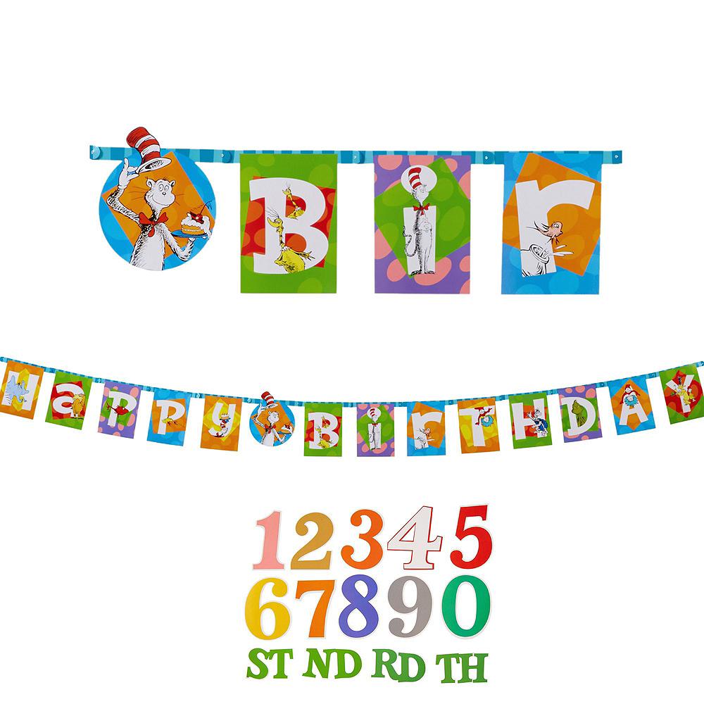 Dr. Seuss Birthday Decorating Kit Image #2