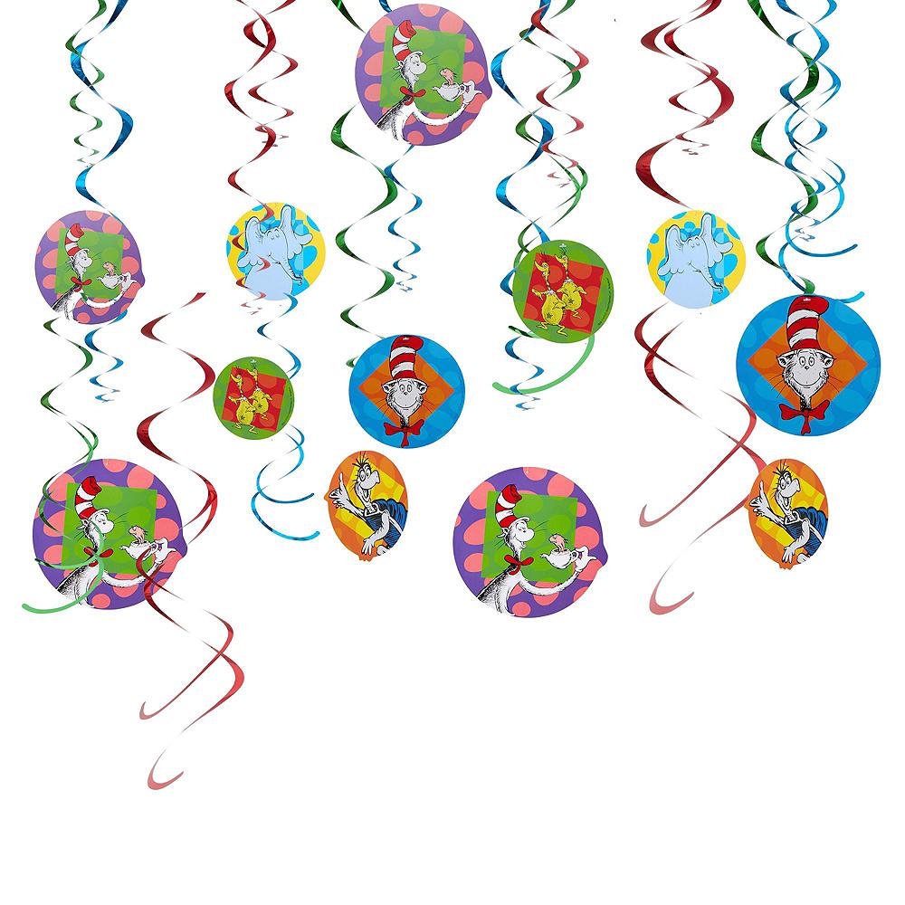 Dr. Seuss Birthday Decorating Kit Image #3