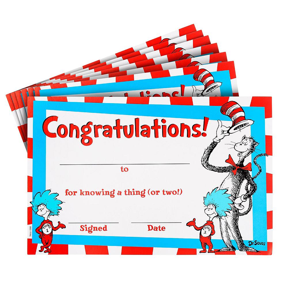 Dr. Seuss Classroom Favors Kit Image #4
