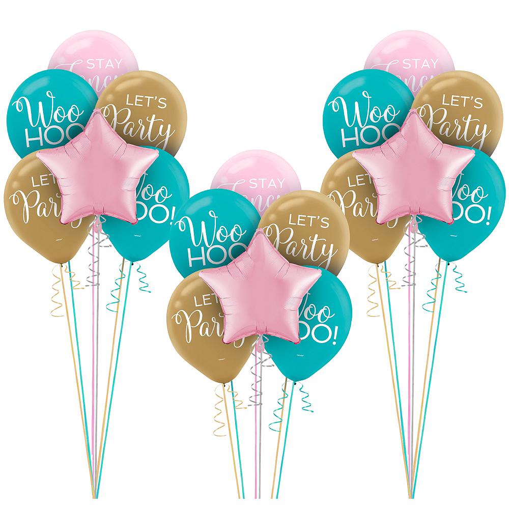 Confetti Fun Birthday Balloon Kit Image 1
