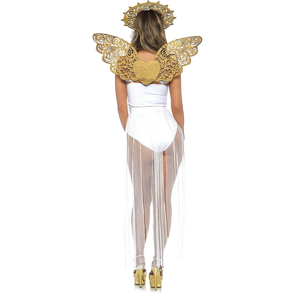 Glitter Golden Angel Costume Accessory Kit Image #2