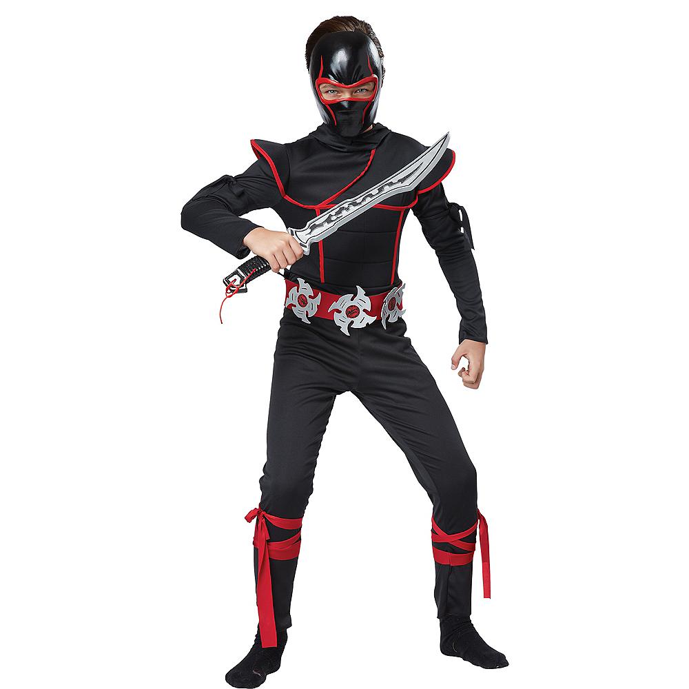 Child Stealth Ninja Costume Accessory Kit Image #2