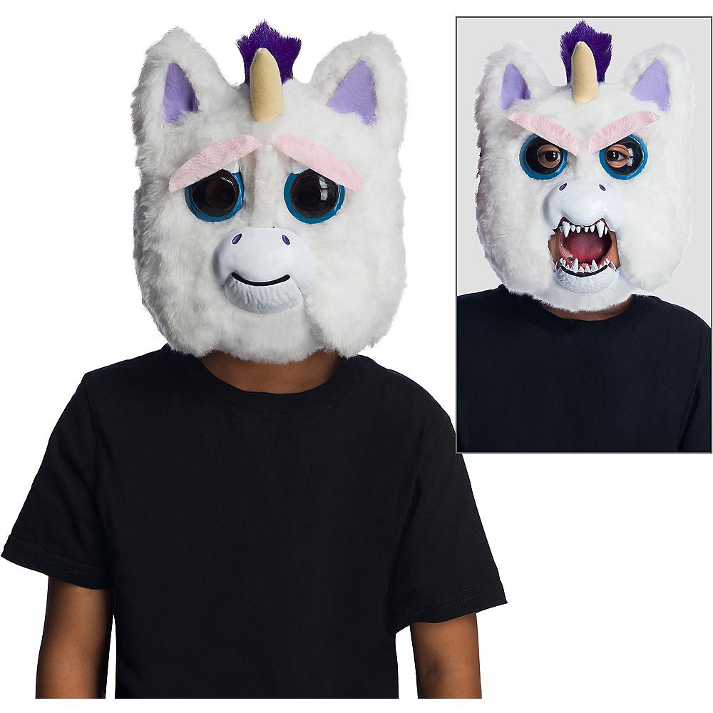 Brand New Feisty Pets Glenda Glitterpoop Unicorn Child Mask