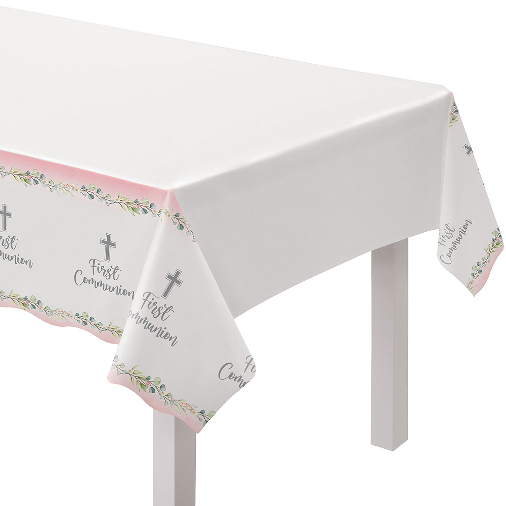 Girl's First Communion Tableware Kit for 36 Guests Image #7