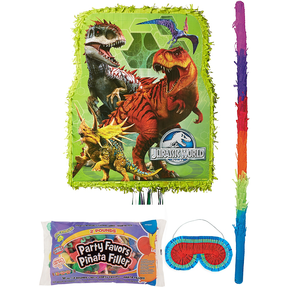 Jurassic World Pinata Kit with Candy & Favors Image #1