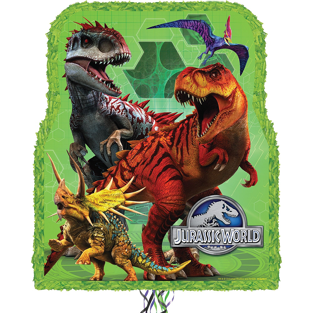 Jurassic World Pinata Kit with Candy & Favors Image #2