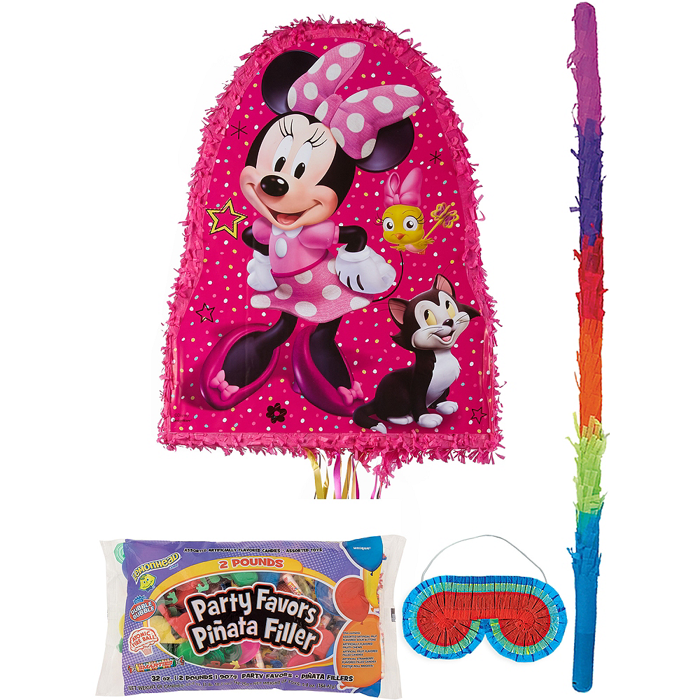 Minnie Mouse Pinata Kit with Candy & Favors Image #1