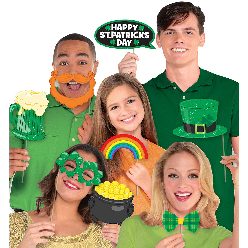 St. Patrick's Day Photo Booth Deluxe Kit Image #2