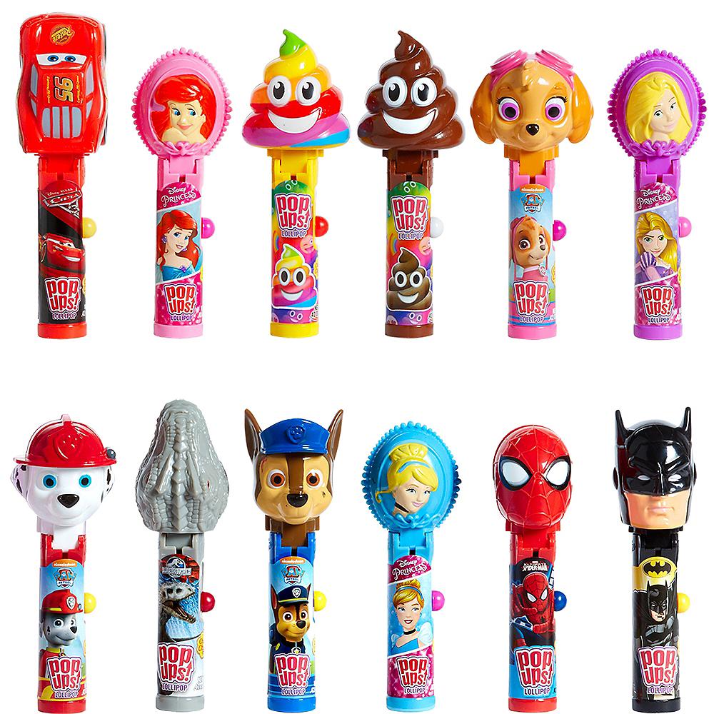 Character Pop Ups Lollipops 12ct Image #1