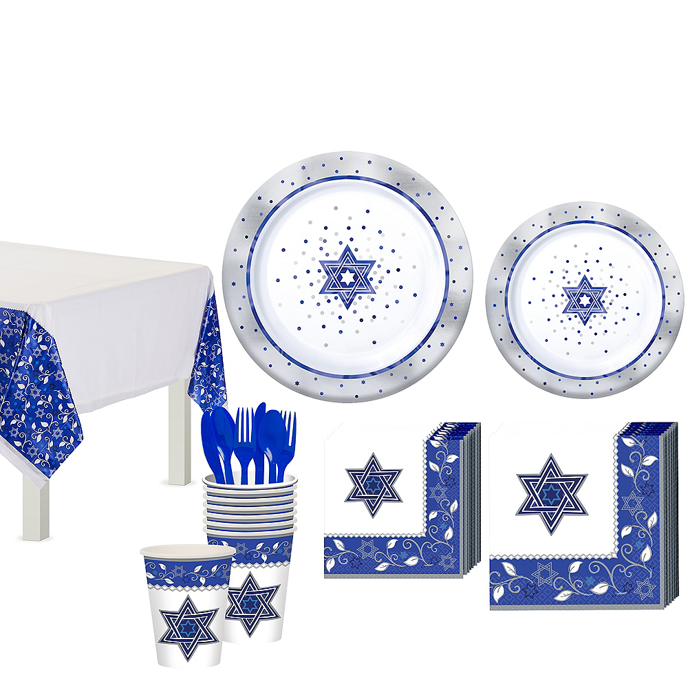 Passover Tableware Kit for 10 Guests Image #1