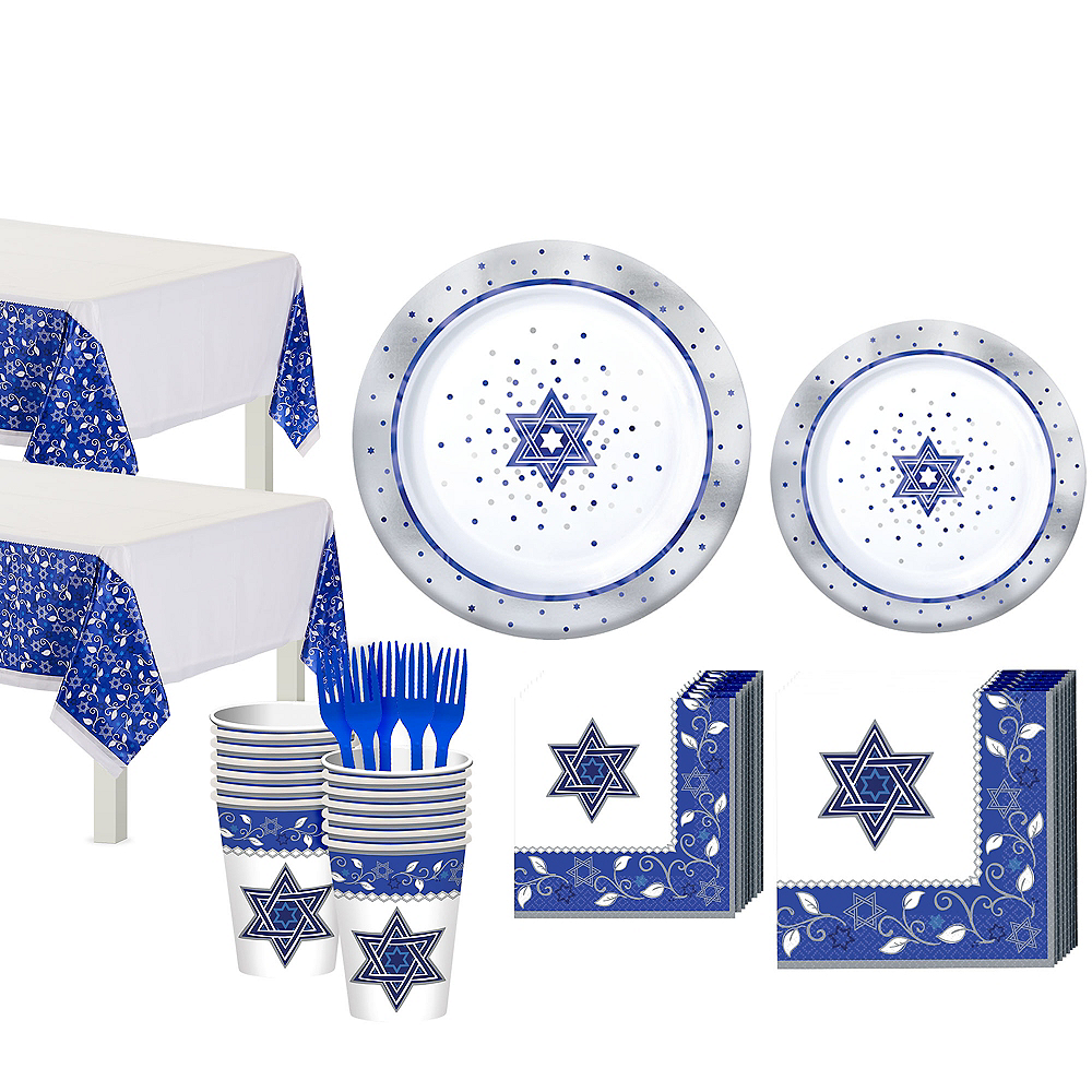 Passover Tableware Kit for 20 Guests Image #1