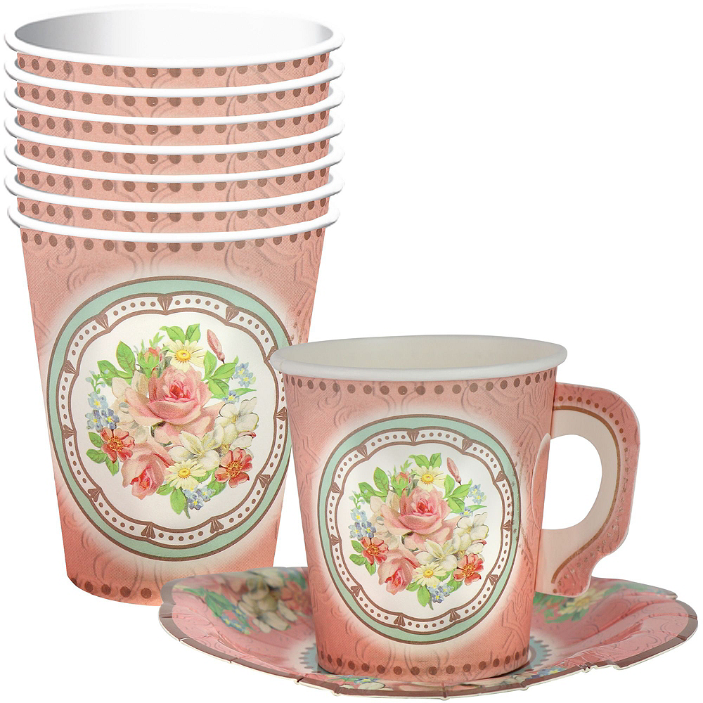 Floral Tea Party Kit for 8 Guests Image #8