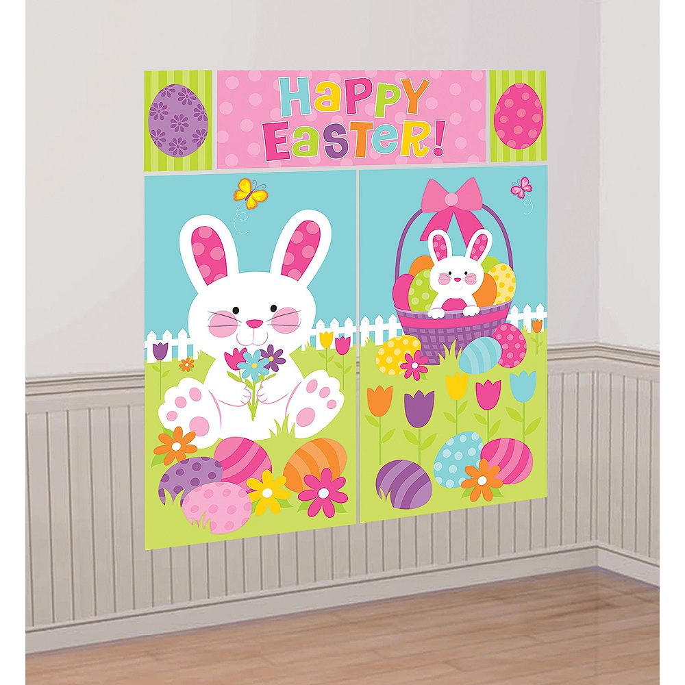 Happy Easter Photo Booth Kit with Props Image #3
