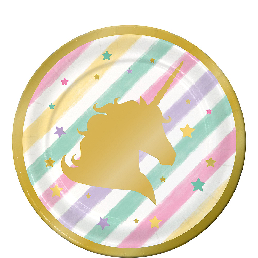 Sparkling Unicorn 1st Birthday Party Kit for 16 Guests Image #2