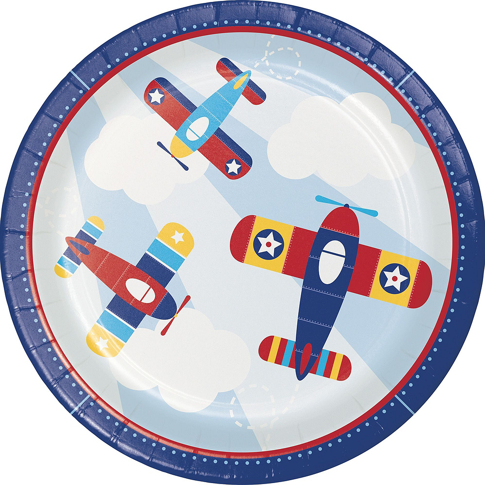 Airplane 1st Birthday Party Kit for 16 Guests Image #3