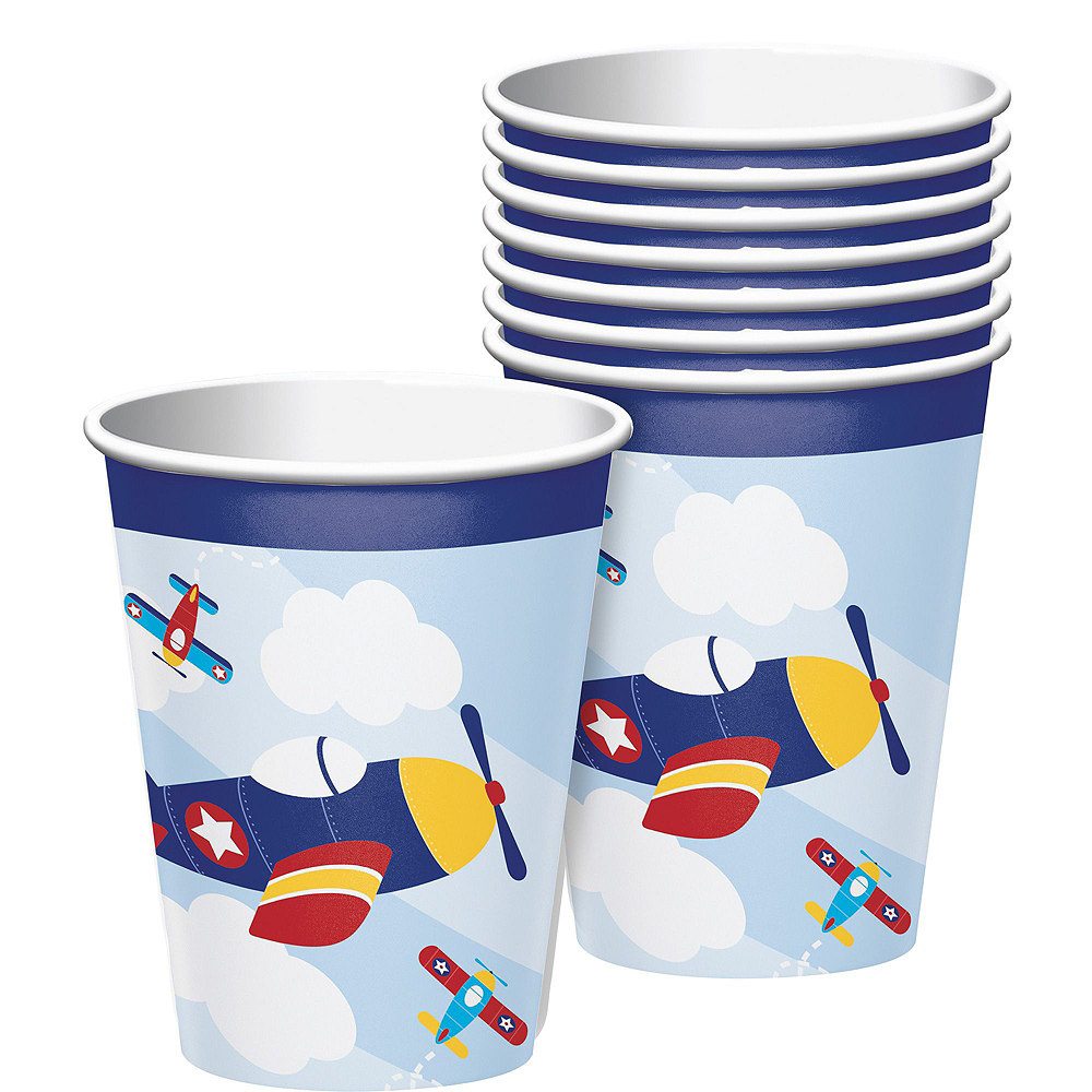 Airplane 1st Birthday Deluxe Party Kit for 32 Guests Image #6