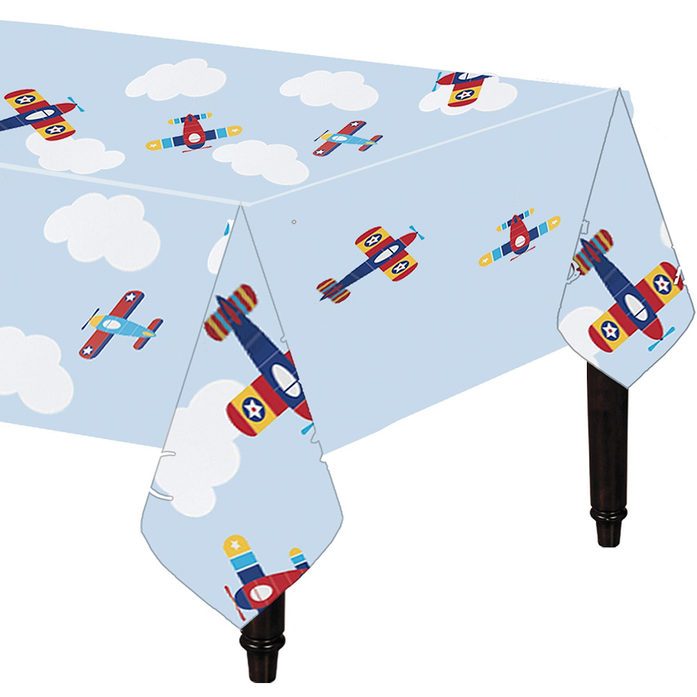Airplane 1st Birthday Deluxe Party Kit for 32 Guests Image #7