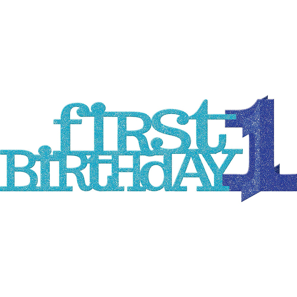 Blue & Gold Premium 1st Birthday Party Kit for 20 Guests Image #8