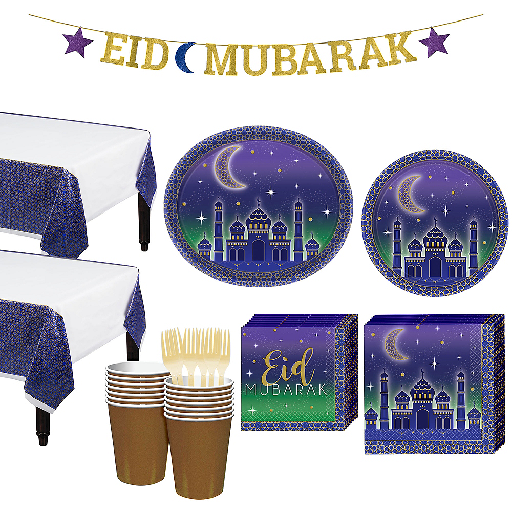 Eid Basic Party Kit for 16 Guests Image #1
