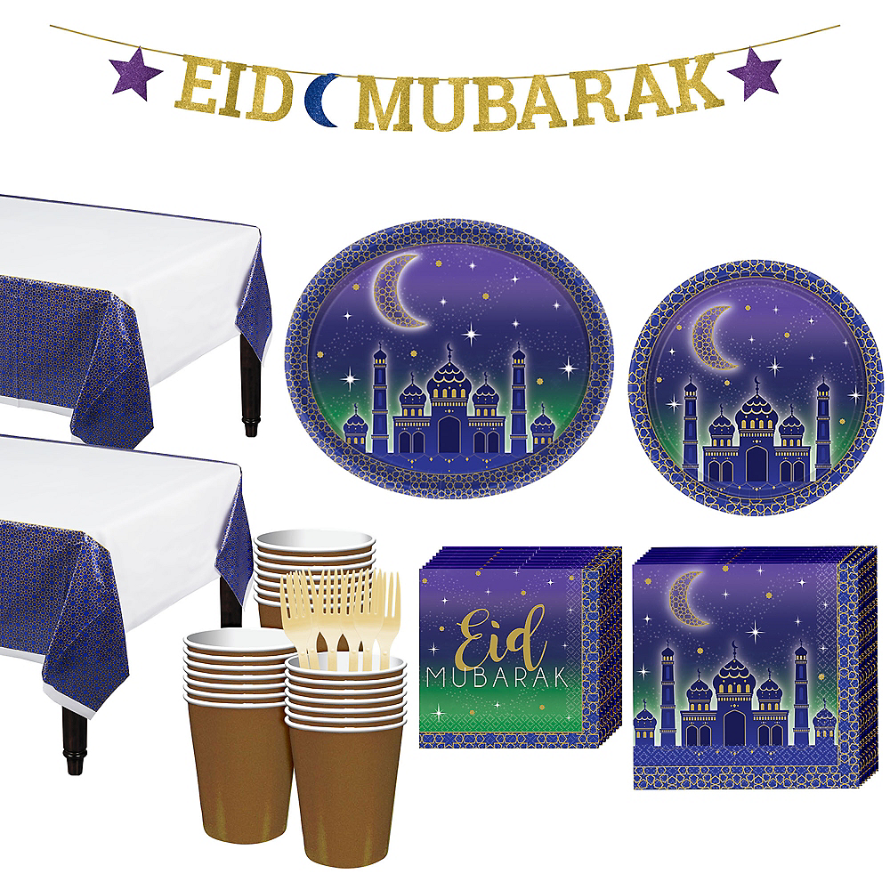 Eid Basic Party Kit for 32 Guests Image #1