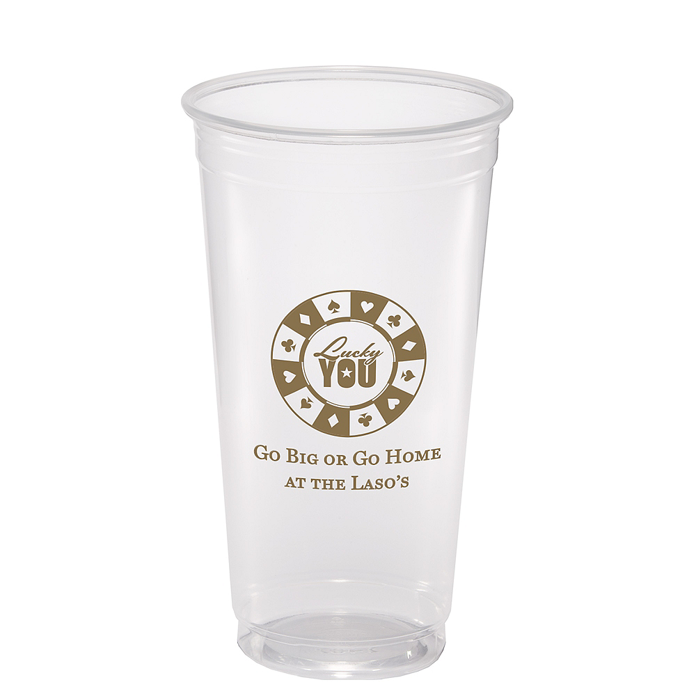 Personalized Hollywood Plastic Party Cups 22oz Image #1